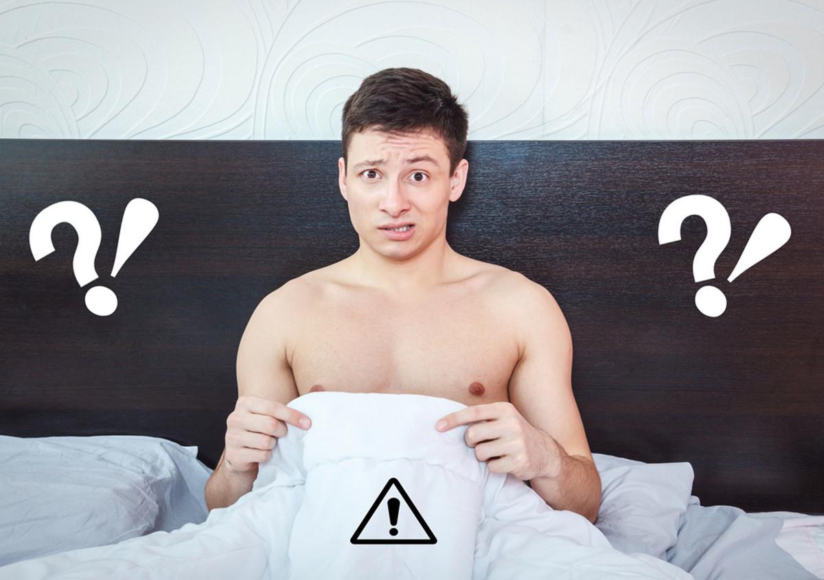 Сексуальное перевозбудимость мужчин